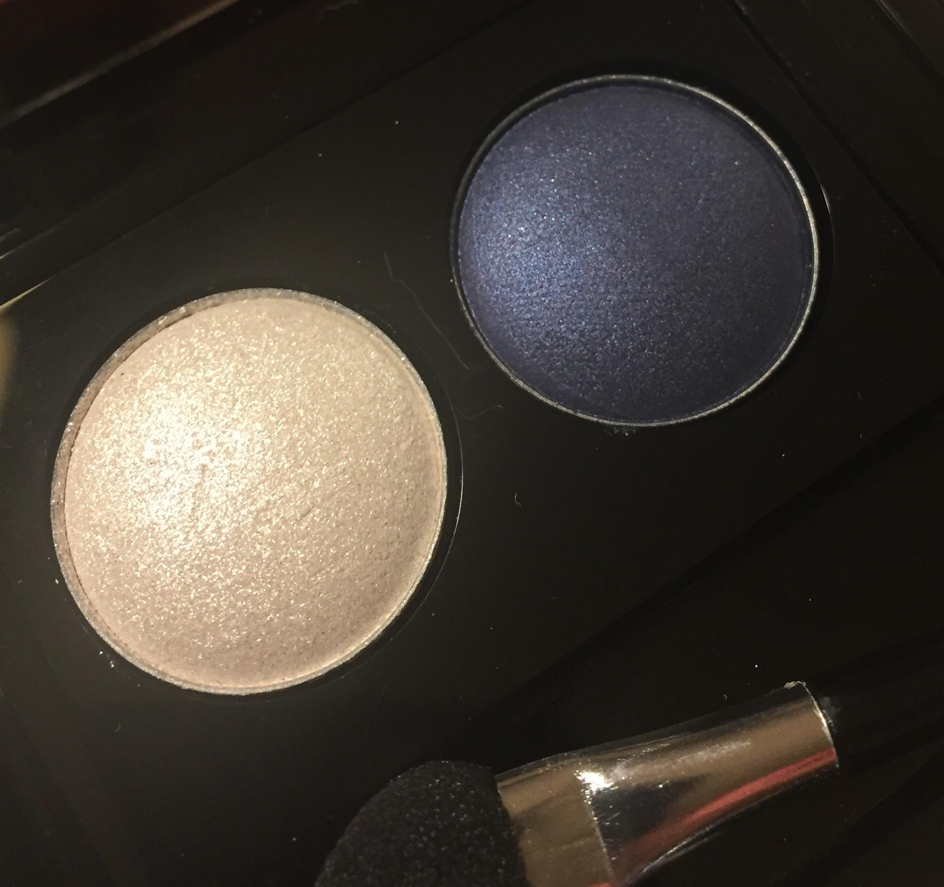 White & Dark blue, Eyeshadow palette, Rituals Makeup, Eyeshadow