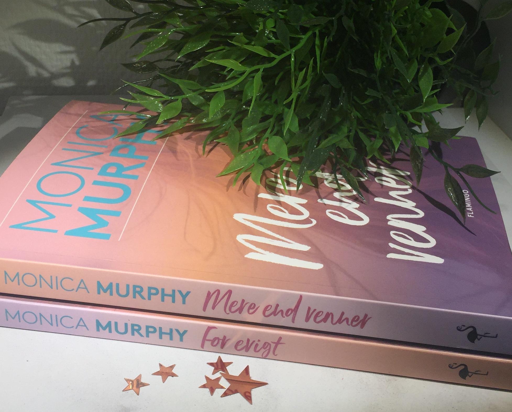 Monica Murphy, Mere end venner, For evigt, Boganmeldelse FOr evigt, Boganmeldelse Monica Murphy, Flamingo Books, Flamingobooks, Flamingo, Krummes Krummelurer, Krummes anmeldelser,
