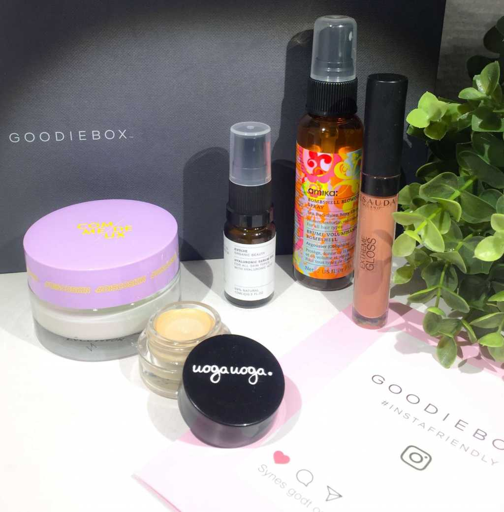 Goodiebox, Goodieboxdk, Goodiebox Denmark, Goodiebox Danmark, Comme Deux, Uoga Uoga, Evolve Beauty, Amika, Msauda Milano,