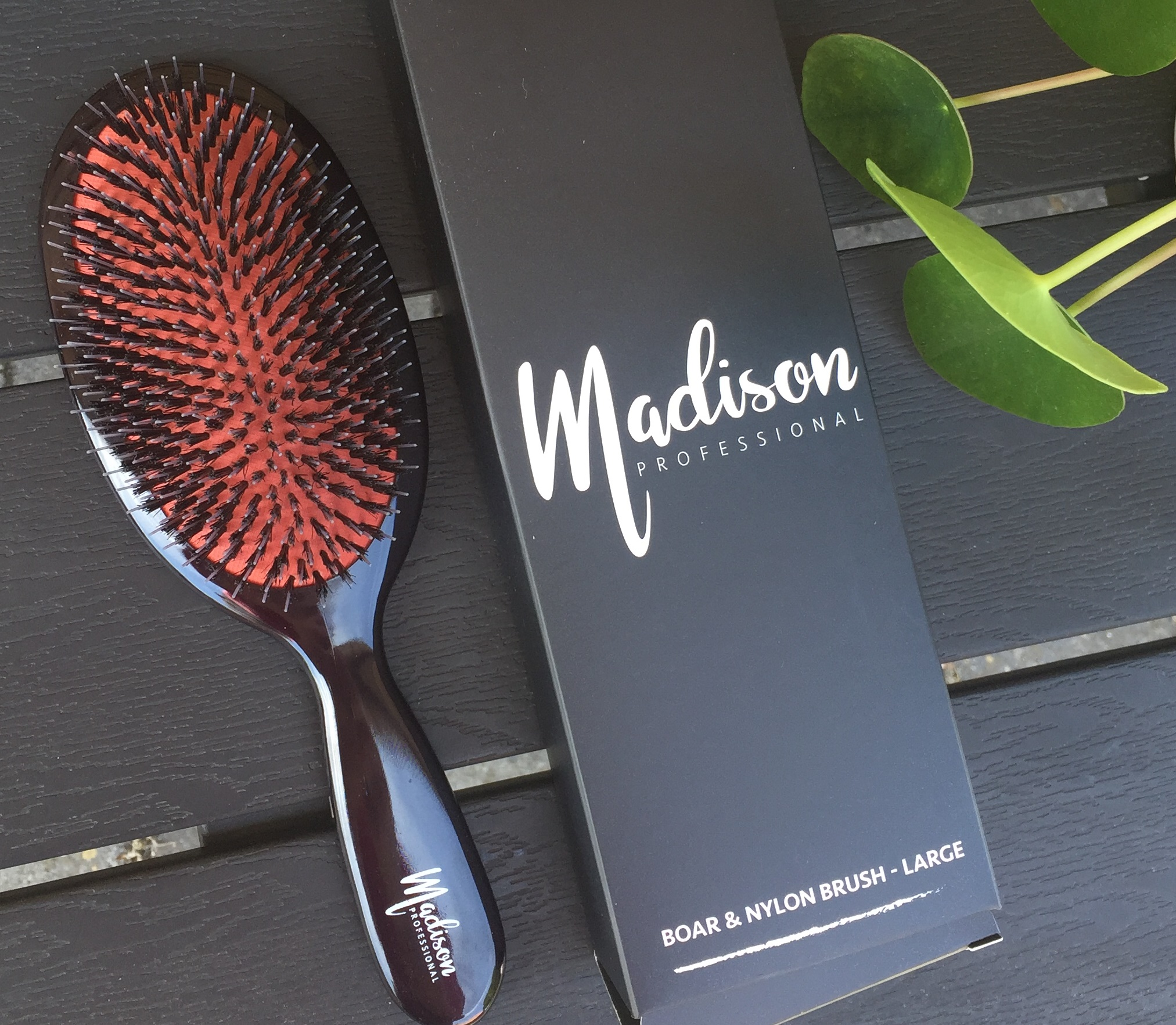 Madison Professional, Billigvoks.dk, Hårbørster, Boar & Nylon Brush, Soft Detangling brush, Hyper Flex Boar Brush,