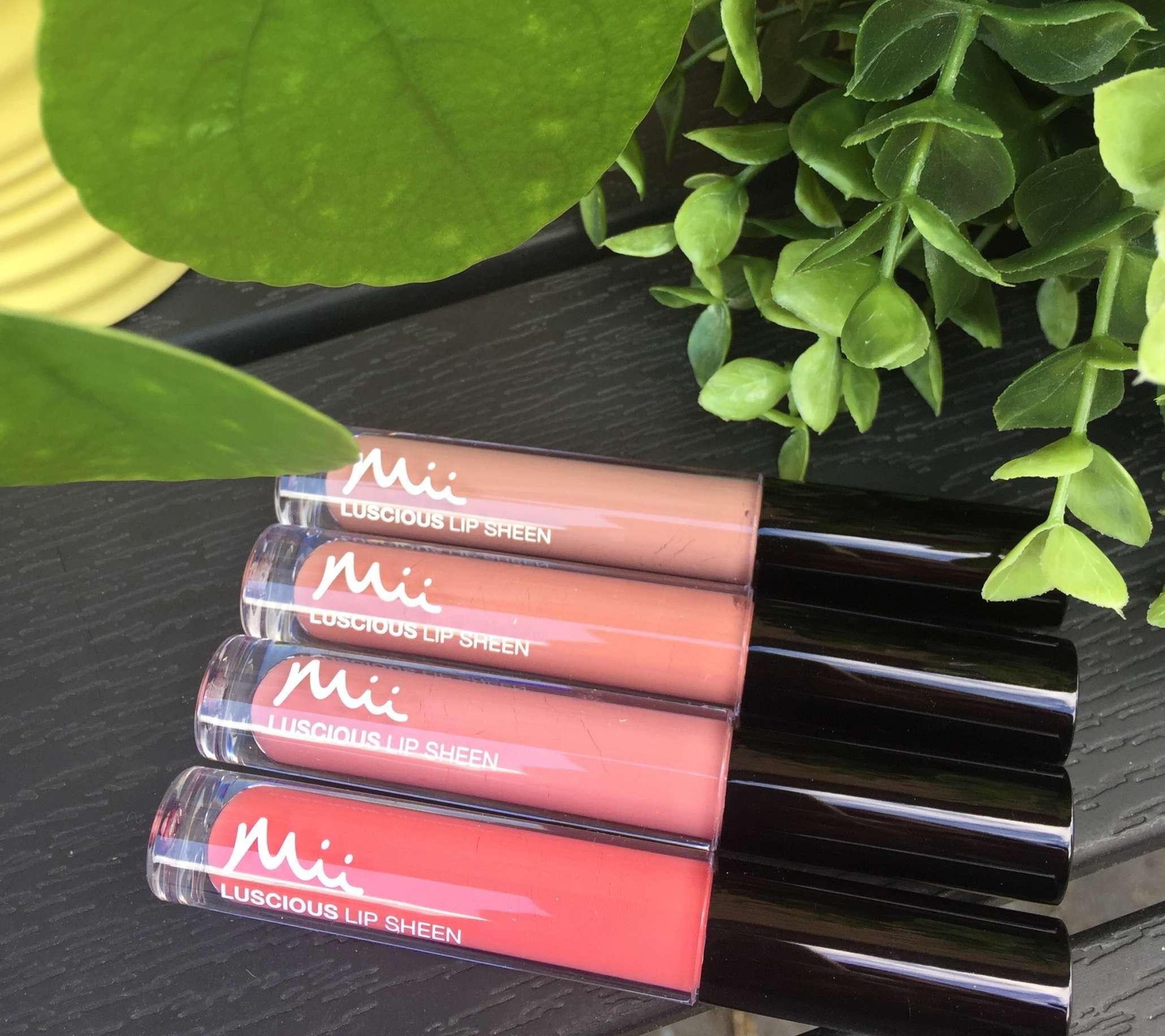 Mii Cosmetic, Mii, Luscious Lip Sheen, Lips, Krummes krummelurer,