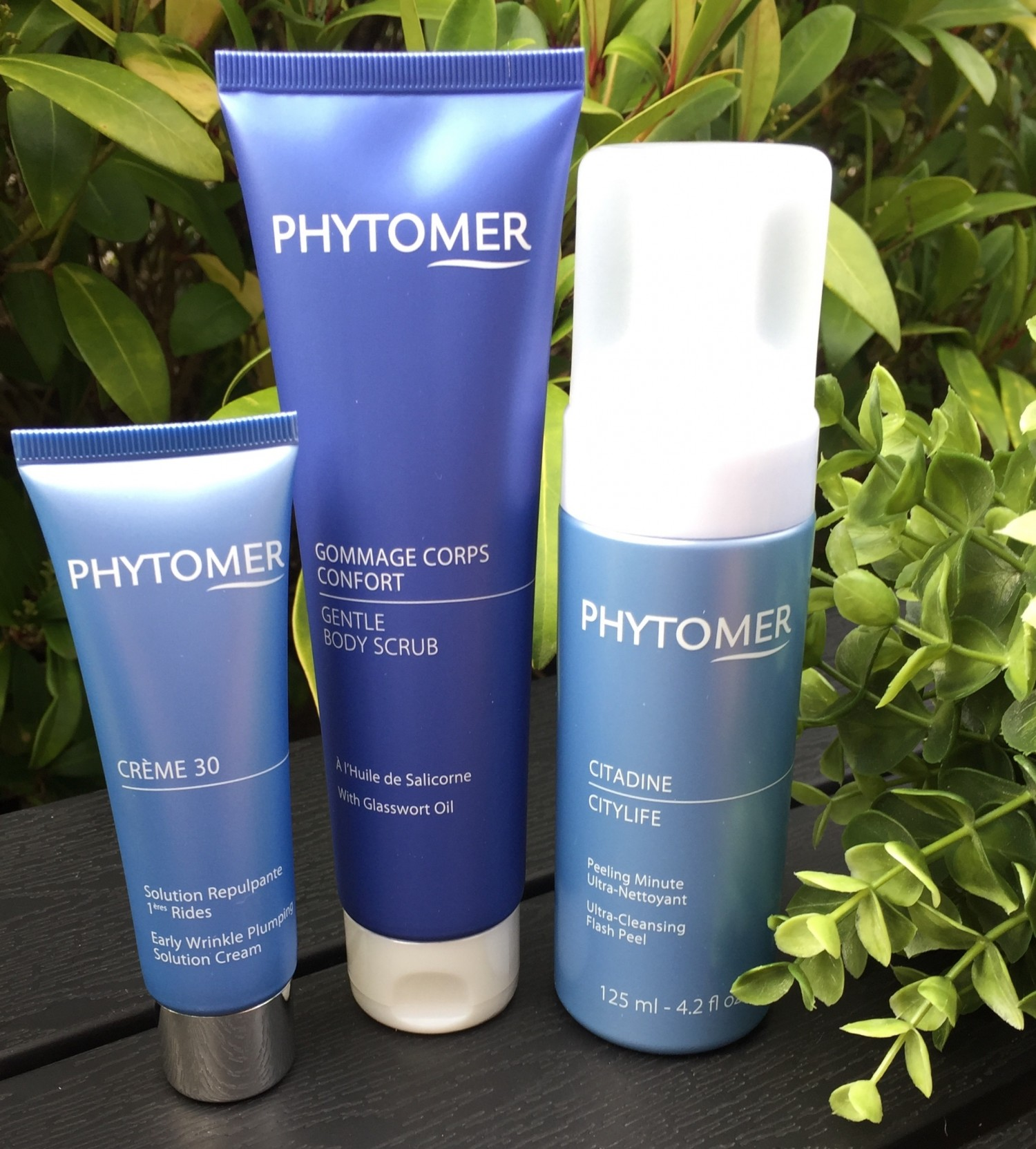 Phytomer, Citylife, Gentle Body scrub, Créme 30, Ultra-cleansing Flash Peel, Peeling,