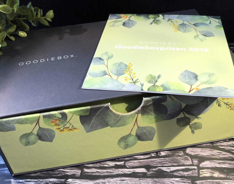 Goodieboxprisen 2019, Goodiebox.dk, Goodiebox, Goodieboxdanmark, Goodiebox Danmark, Rodial, Gosh Growth serum, GOSH, Karmameju, Sandstone Scandinavia mascara, Rituals,