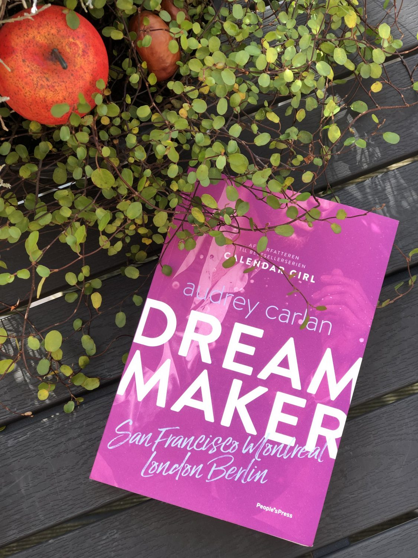 Audrey Carlan, Dream Maker, Dream Maker San Francisco, Dream Maker Montreal, Dream Maker London, Dream Maker Berlin, anmeldereksemplar, Krummeskrummelurer.dk, krummeskrummelurer, Krummes Krummelurer, YA,