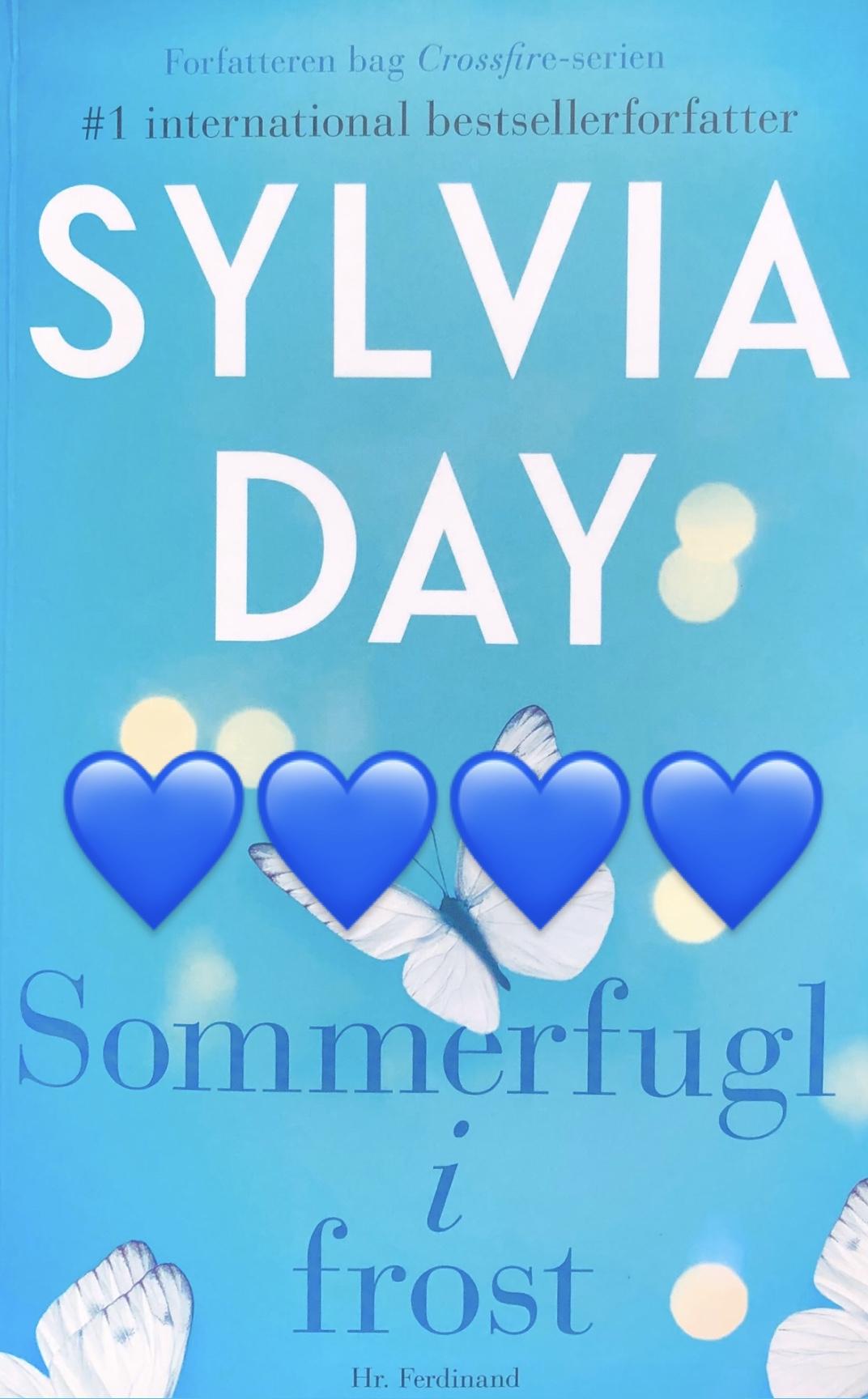 anmeldelse, boganmeldelse, anmeldelse af Sommerfugl i Frost, Sylvia Day, Hr. ferdinand, kærlighed, krummeskrummelurer, Krummes Krummelurer, krummeskrummelurer.dk, anmeldereksemplar,