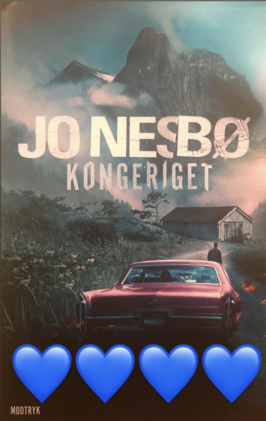 Jo Nesbø, Kongeriget, Kongeriget af Jo Nesbø, Modtryk, thriller, krimi, krummeskrummelurer, krummeskrummelurer.dk, boganmeldelse, anbefaling, anmeldereksemplar,