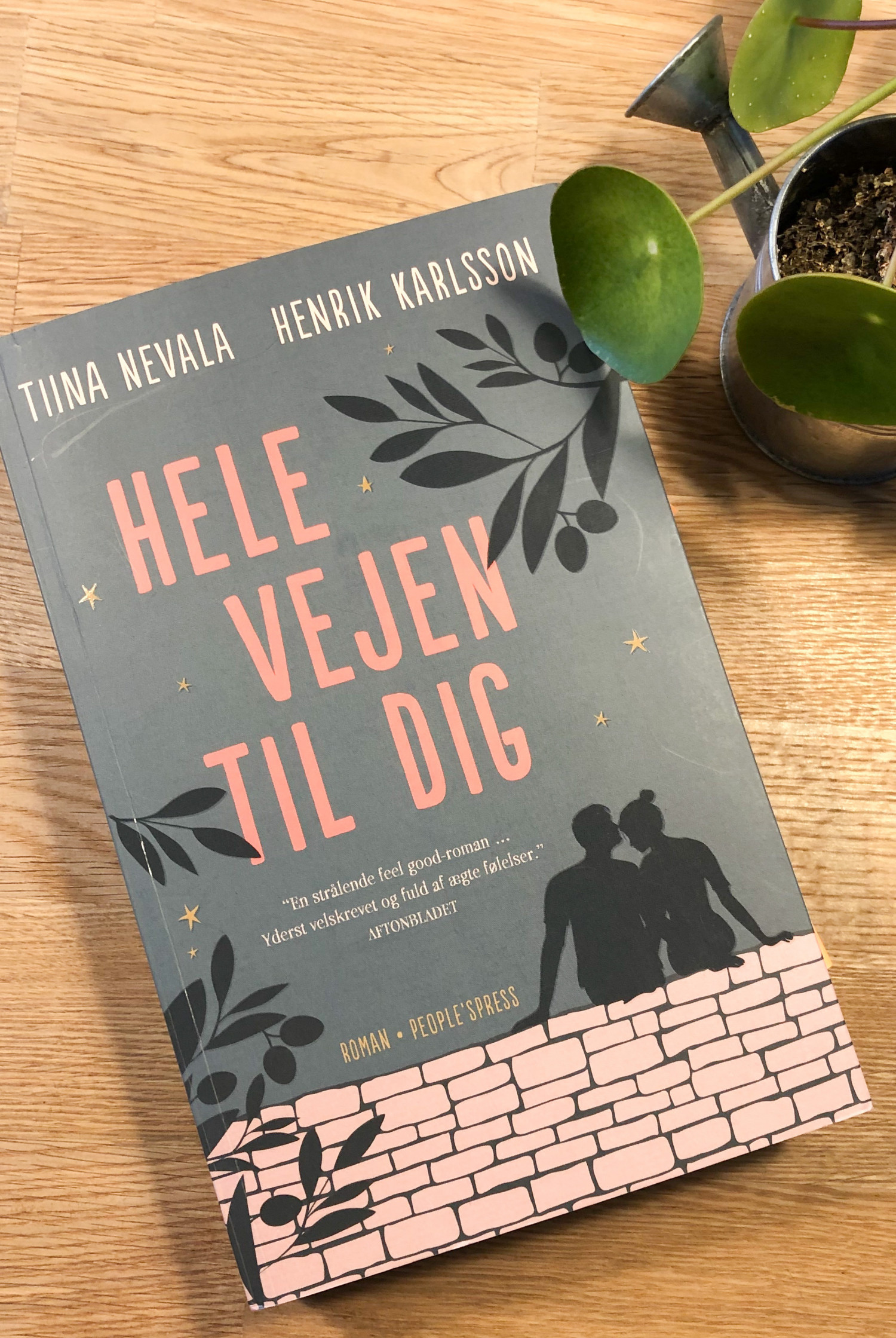 Hele vejen til dig, Roman, People's Press, Tina Nevala, Henrik Karlsson, För såna som oss, krummeskrummelurer, krummeskrummelurer.dk, boganmeldelse, anbefaling, anmeldereksemplar,