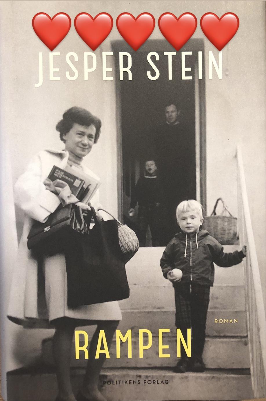 Rampen, Jesper Stein, Politikens Forlag, Roman, Biografi, Rampen af Jesper Stein, Axel Steen, krummeskrummelurer, krummeskrummelurer.dk, boganmeldelse, anbefaling, anmeldereksemplar,