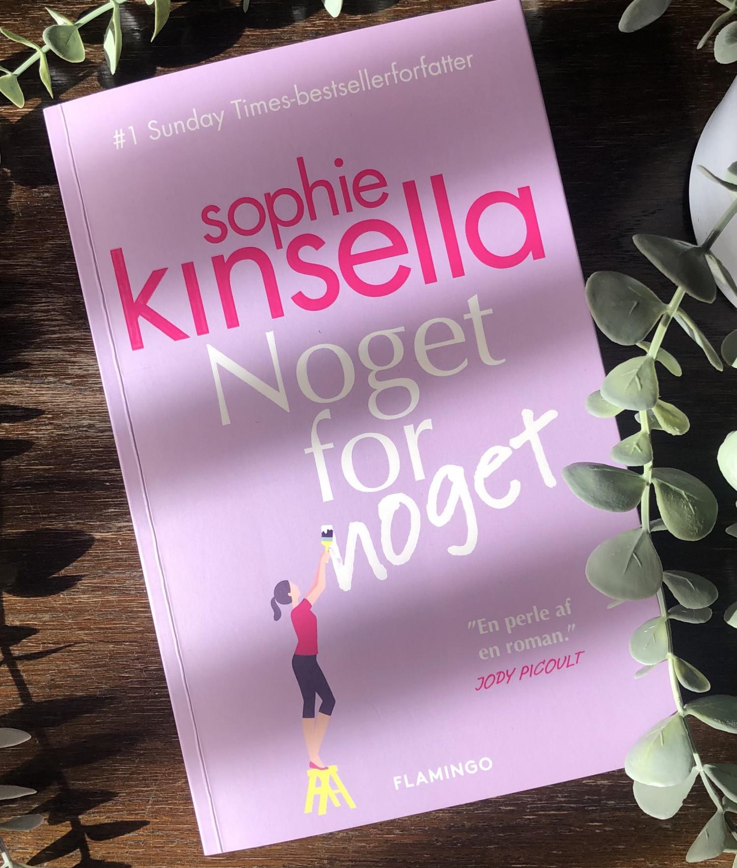 Noget for noget, Sophie Kinsella, I owe you one, Anmeldelse af Noget for noget, Sophie Kinsella anmeldelse, Flamingo, flamingo books, , krummeskrummelurer, krummeskrummelurer.dk, boganmeldelse, boganmeldelser på nettet, bøger på Instagram, bøger jeg læser, bøger jeg anbefaler, Christina Rand, anbefaling, anmeldereksemplar,