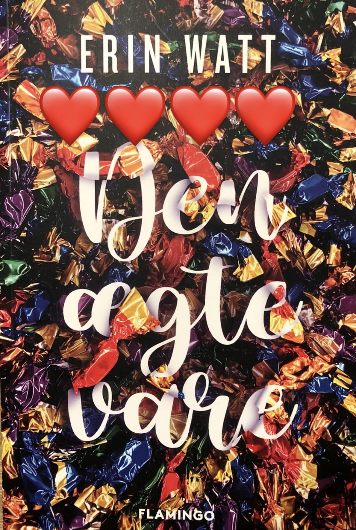 Den ægte vare, Erin watt, Elle Kennedy, Jen Frederick, When it's real, kærlighed, fake boyfriend, anmeldelse af Den ægte vare, Erin Watt anmeldelse, anmeldelse, Flamingo, flamingo books, krummeskrummelurer, krummeskrummelurer.dk, boganmeldelse, boganmeldelser på nettet, bøger på Instagram, bøger jeg læser, bøger jeg anbefaler, Christina Rand, anbefal