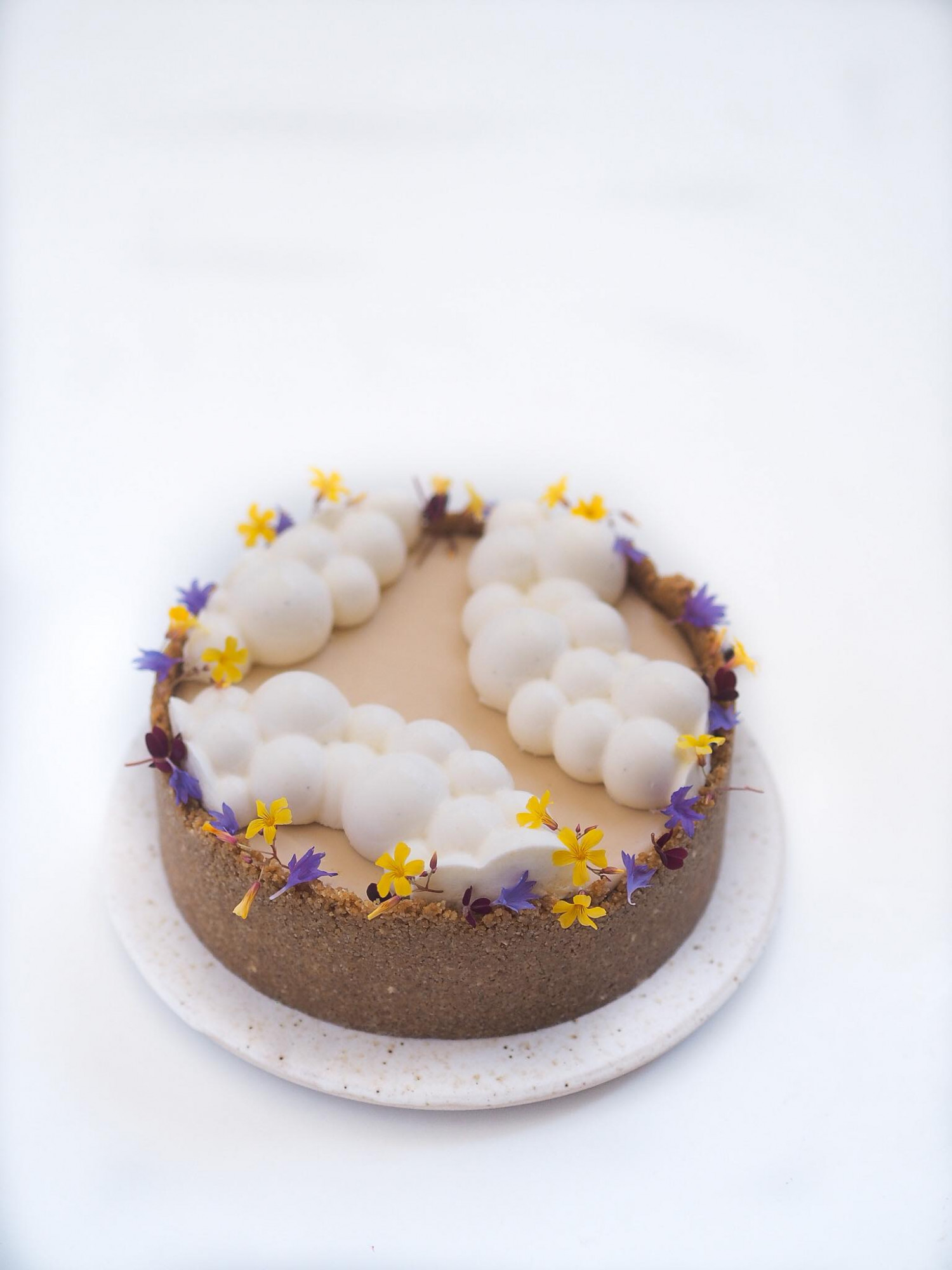 cheesecake med karamel