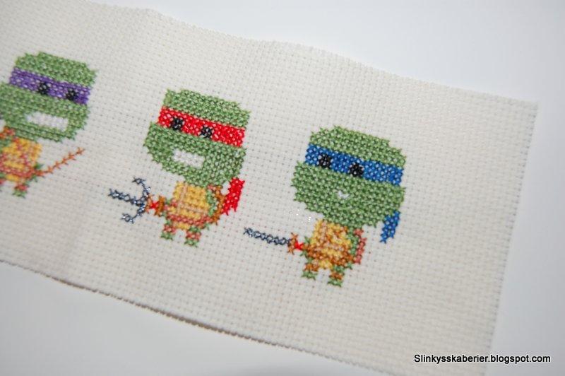 broderede ninja turtles