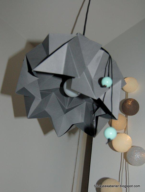 DIY på Foldet lampe