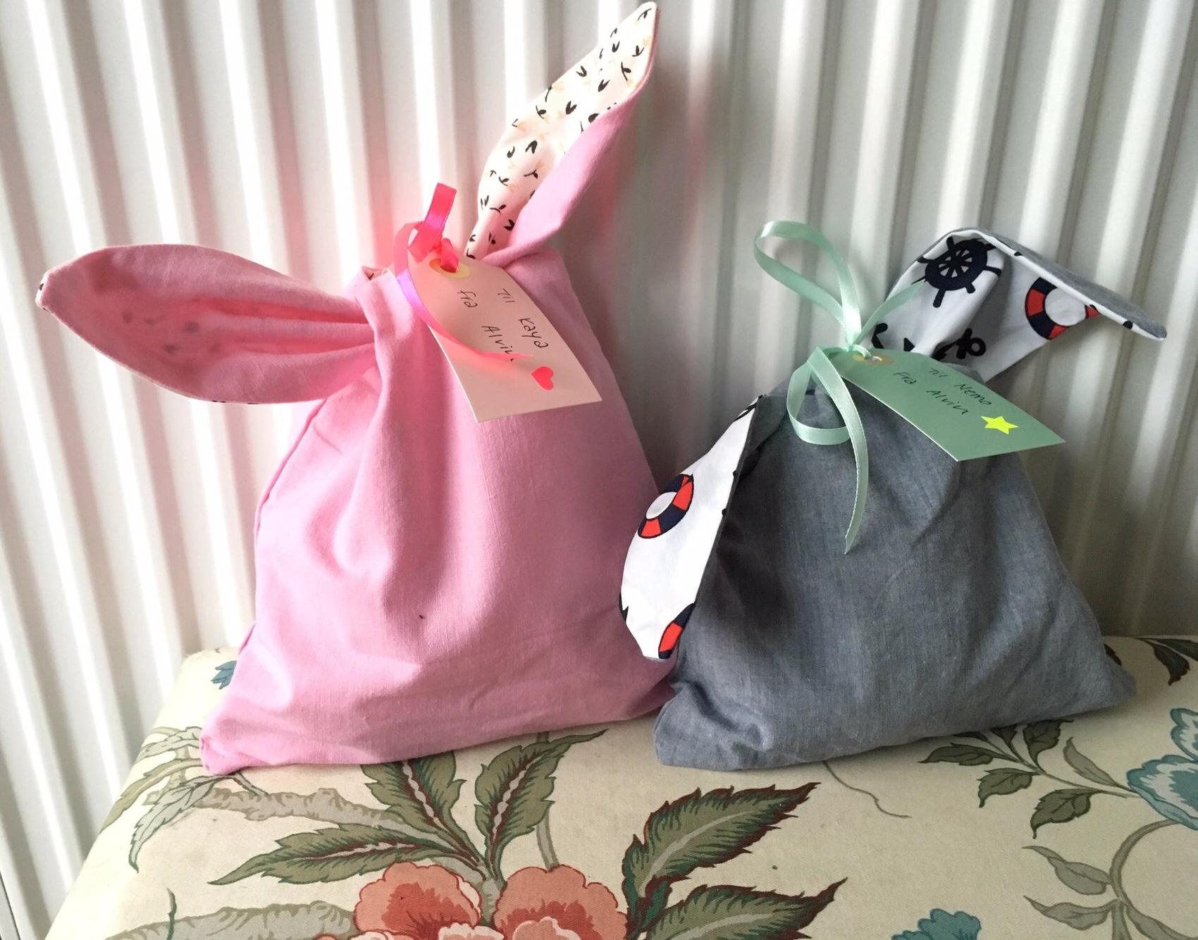 DIY kanin frugtpose