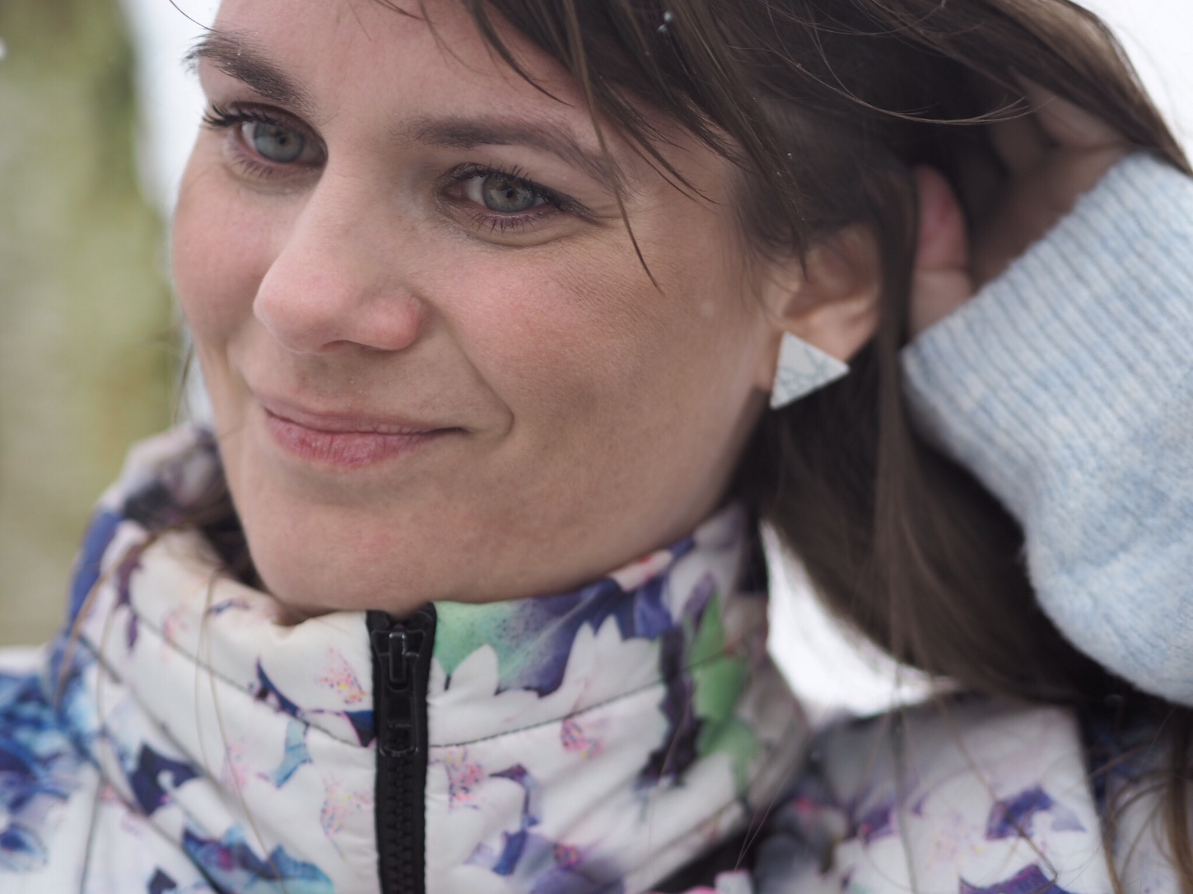 marmor øreringe