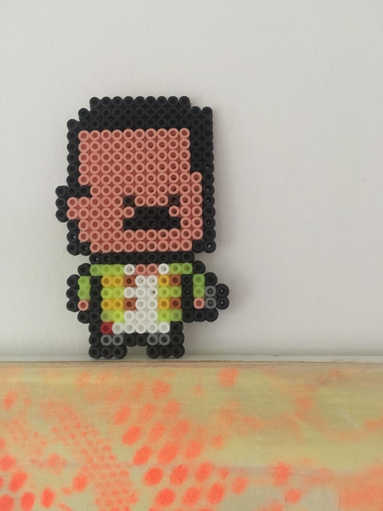 Freddie Mercury hama perleplade