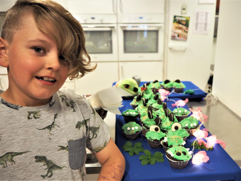 Krokodillekage sjov fødselsdagskage