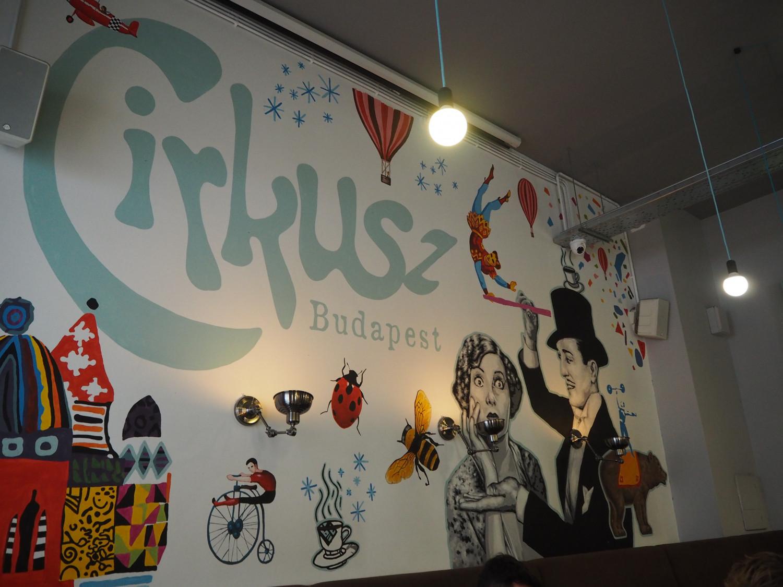 Budapest guide Cafe Cirkusz