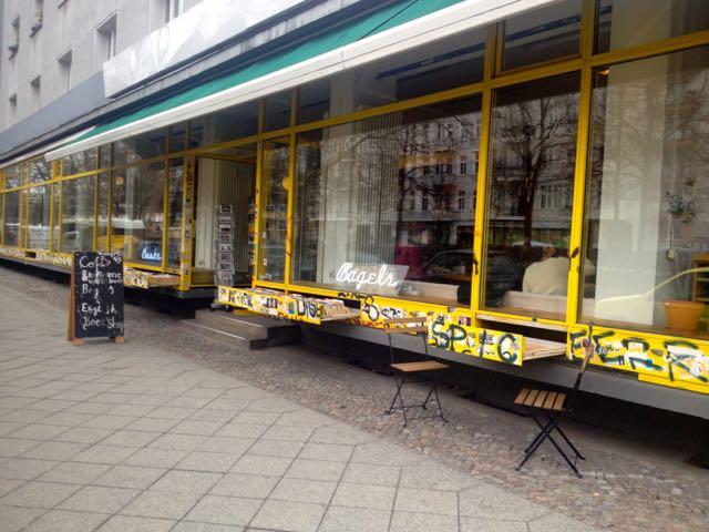 Coffe and bagels - Ud og drikke i Berlin