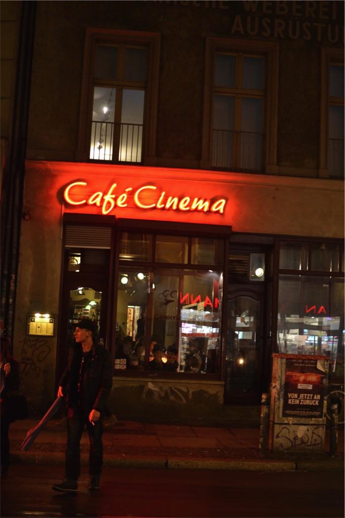 Cafe Cinema - Ud og drikke i Berlin
