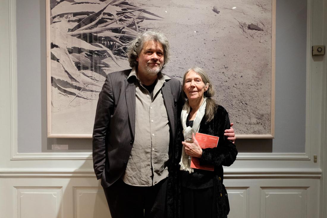 Tove Kurtzweil med sin mangeårige samarbejdspartnerLars Schwander kulturformidleren