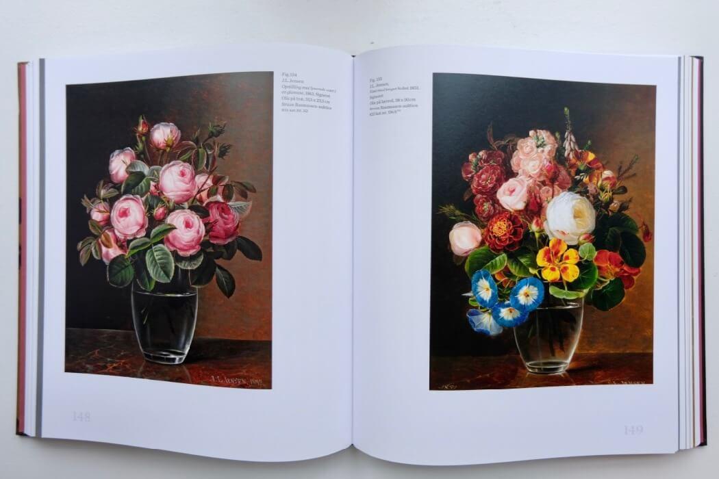 Blomstermaleren J.L. Jensen Nivaagaard - kulturformidleren - 2