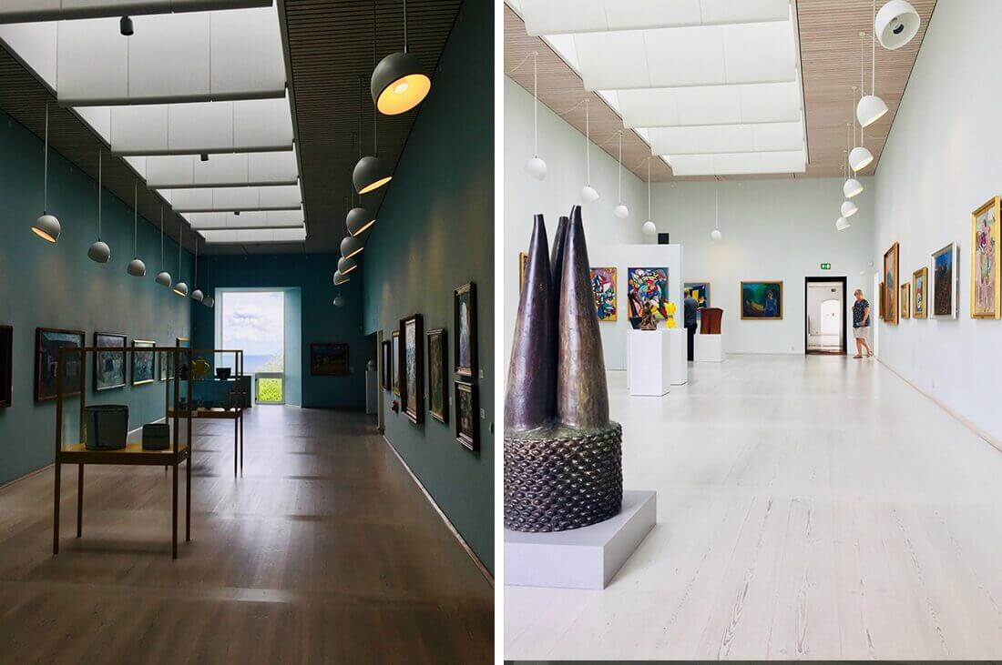 Bornholms kunstmuseum udstillingsrum kulturformidleren_dk
