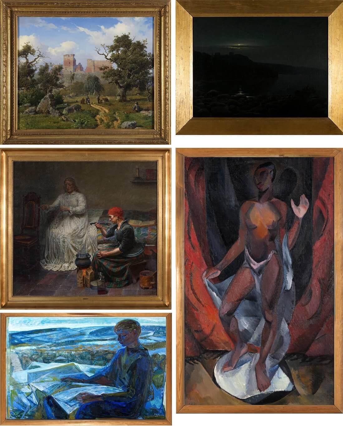 Bornholms kunstmuseum malerier kulturformidleren_dk