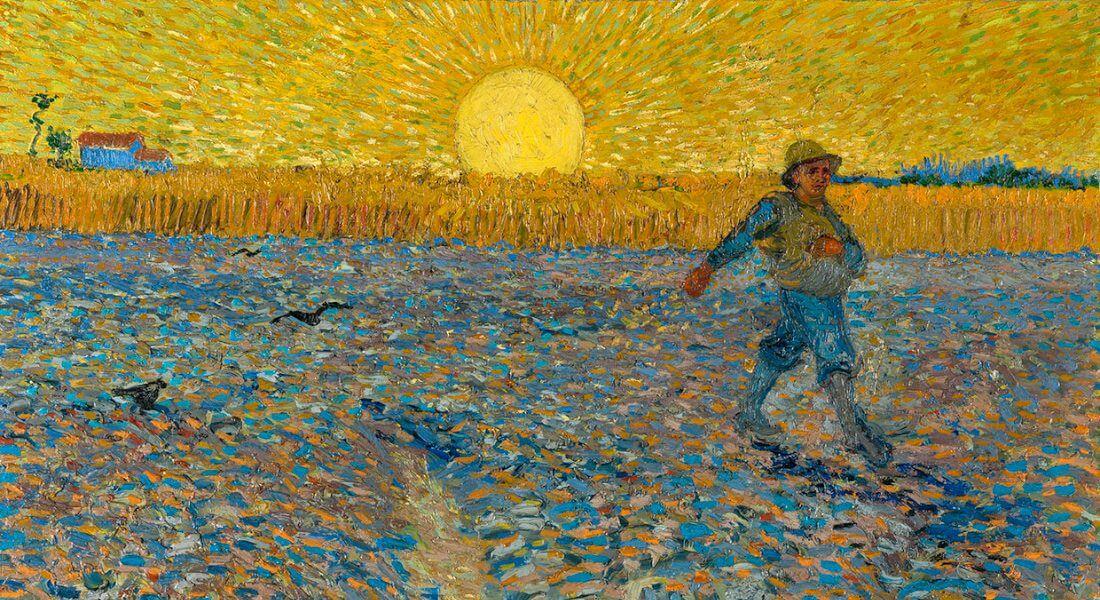 Vincent van Gogh, Sædemanden, 1888