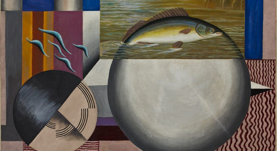 FranciskaClausen_Fisken_1926_MSJ_KunstmuseetBrundlundSlot
