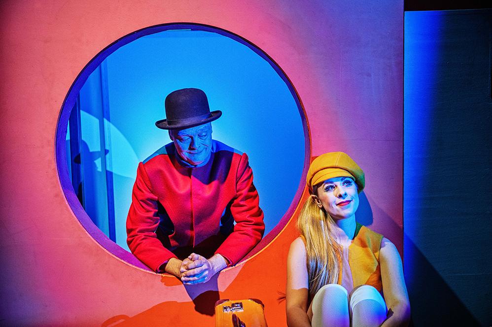 Tom Jensen og Mathilde Passer i Jeg er sgu min egen