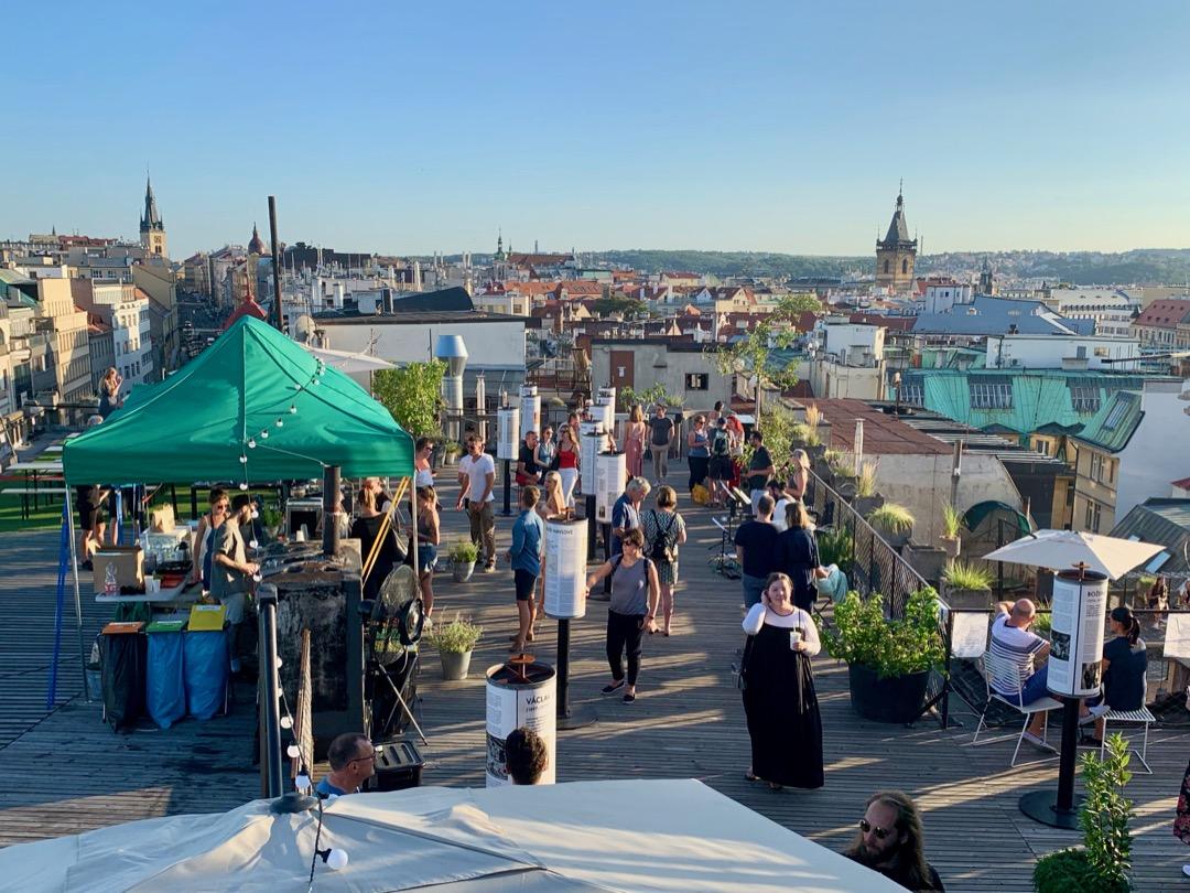 Bedste Rooftop Bar i Prag ovenfor