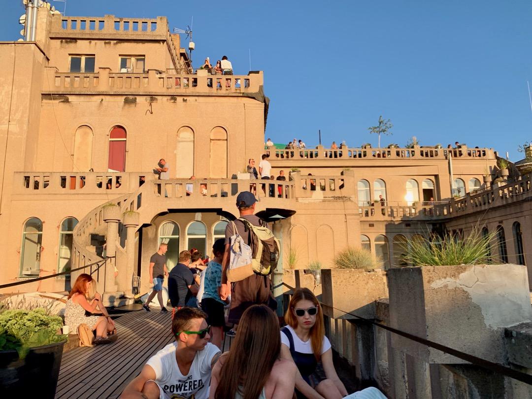 Bedste Rooftop Bar i Prag nedenfor - 1