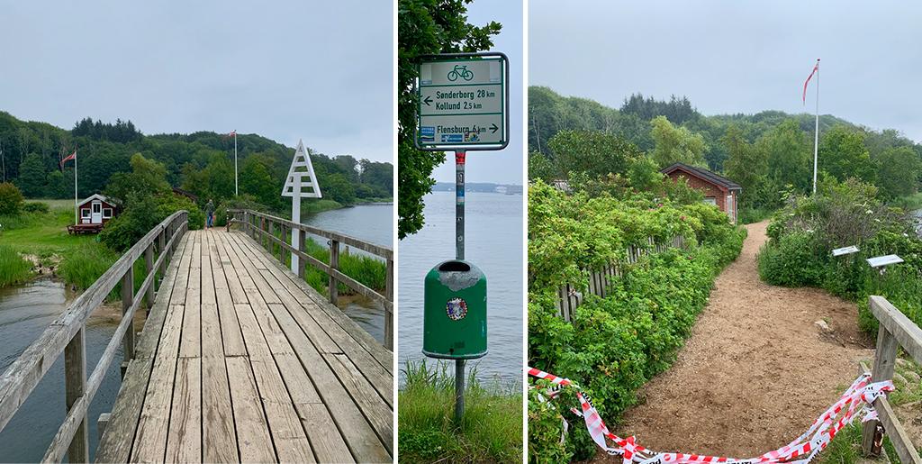 Grænseovergangen Skomagerhus/Schusterkate - gå over grænsen