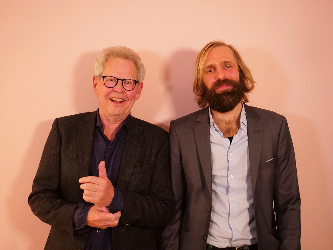 Søren Kragh-Jakobsen og Espen Strunk