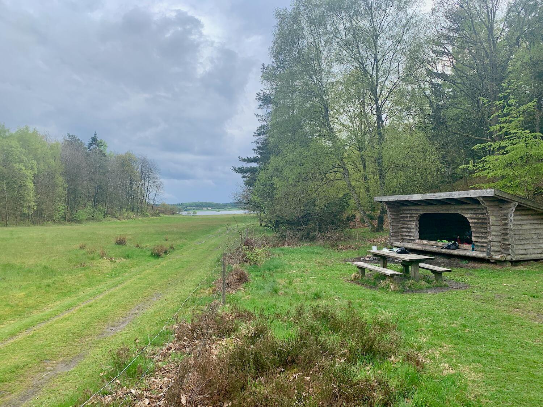 Hærvejen Bølling Sø shelter