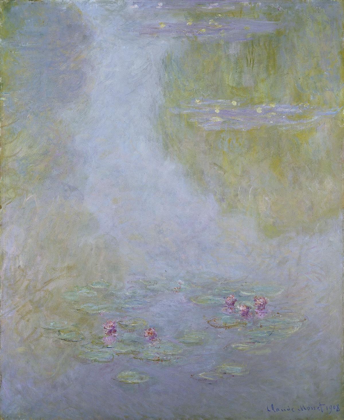 Blomsten i Kunsten. Claude Monet, Åkander, 1908. Amgueddfa Cymru – National Museum Wales. Testamentarisk arv fra Gwendoline Davies, 1951. Foto: National Museum Wales