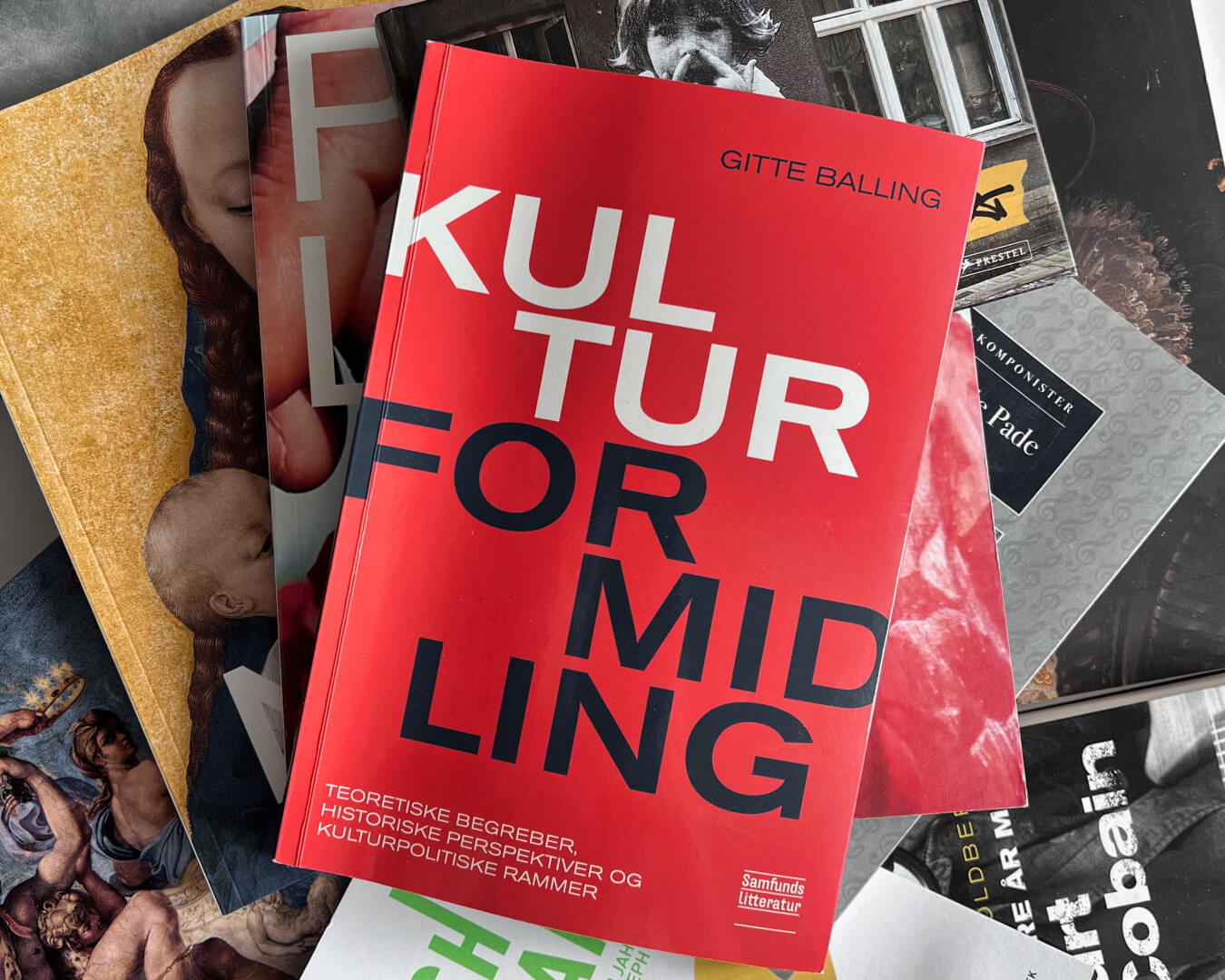 Anmeldelse af Kulturformidling af Gitte Balling udgivet på Samfundslitteratur