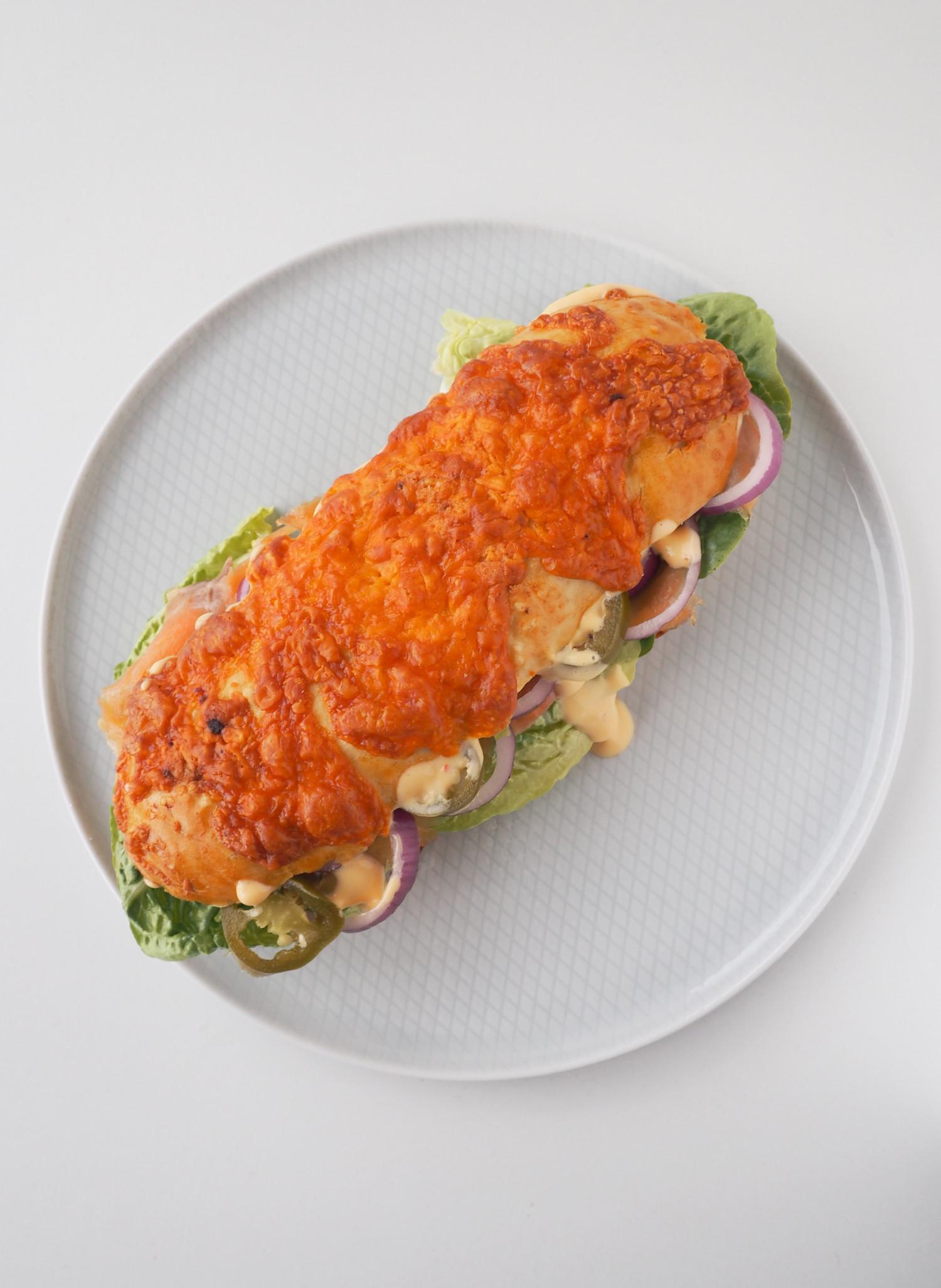 Sandwichbrød med cheddar af Rebekka Mikkelsen fra MasterChef der står bag Beksemad