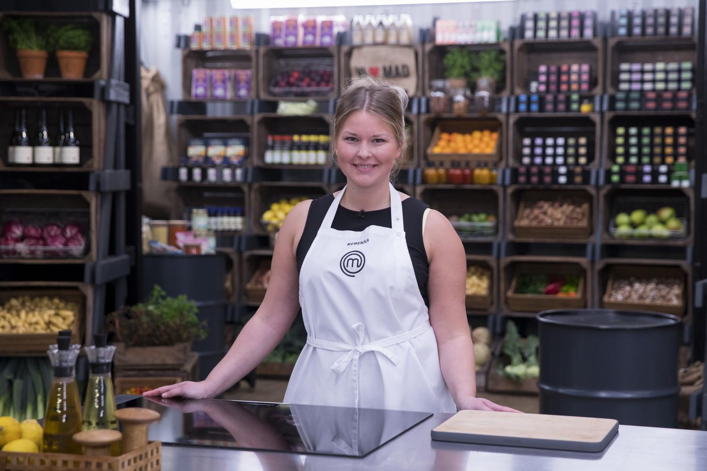Rebekka Mikkelsen deltager i MasterChef 2019 Foto: TV3.