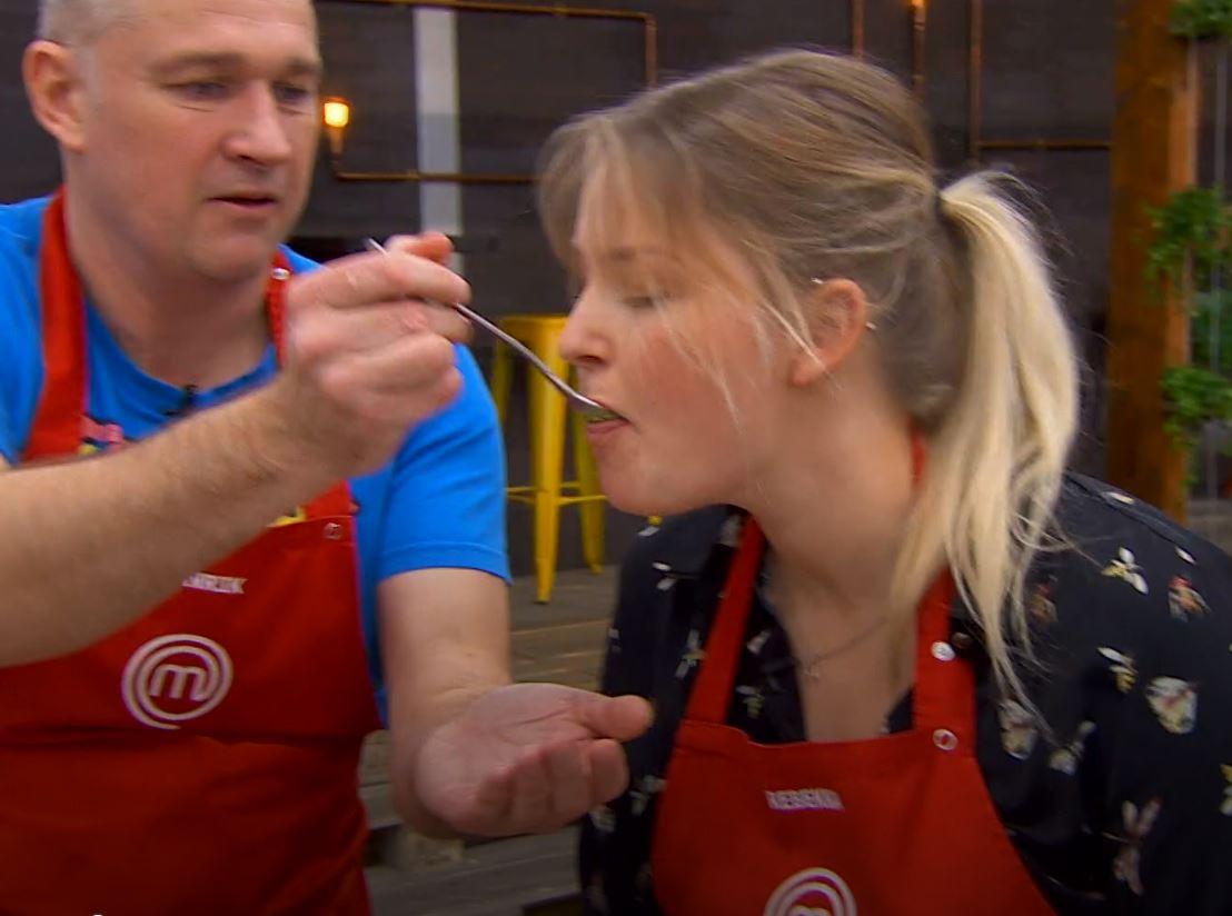 Rebekka Mikkelsen MasterChef 2019 i tapas Foto: TV3