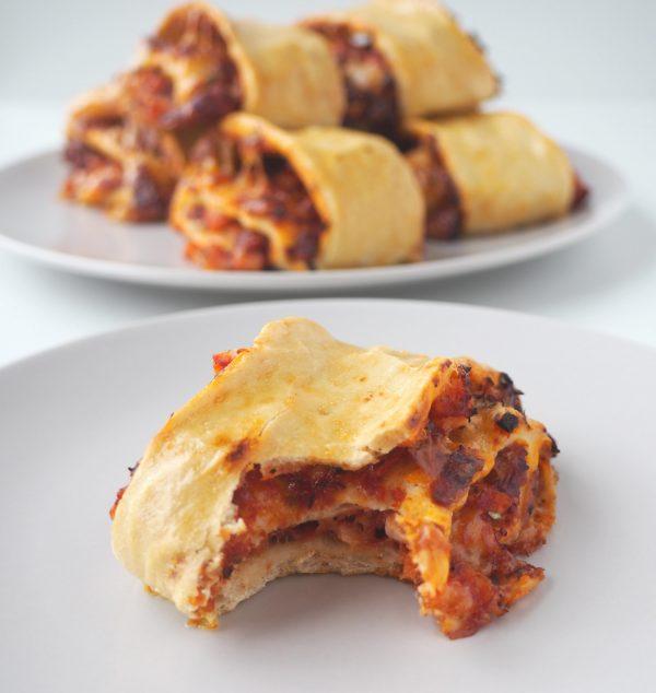 Pizzagifler med kylling - et alternativ til pizzasnegle af Beksemad Rebekka Mikkelsen