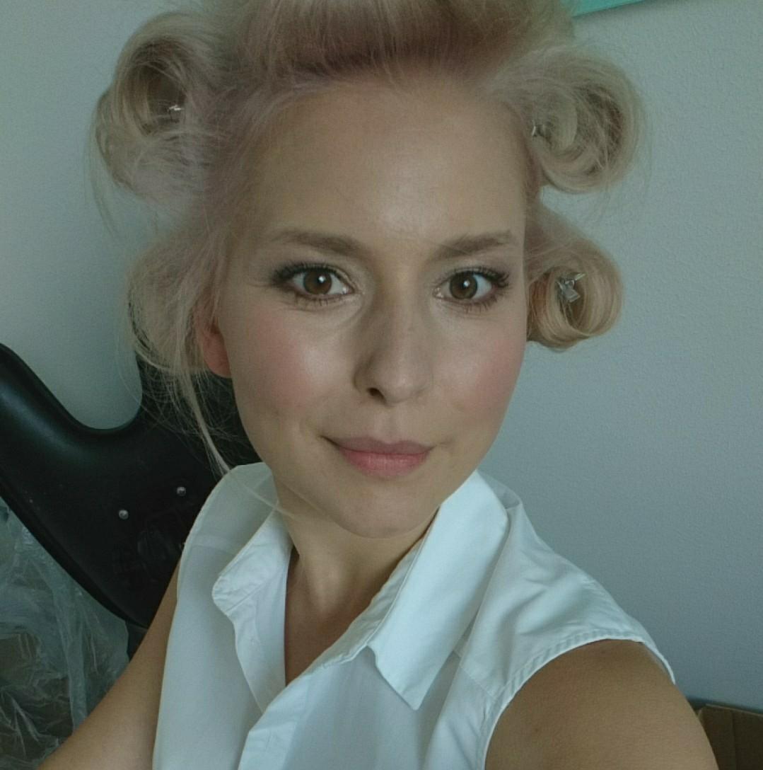 Rebekka Mikkelsen fra MasterChef som hårmodel for Wella