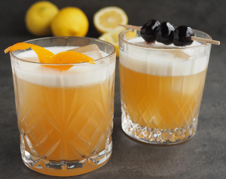 Amaretto Sour cocktail opskrift ala Beksemad