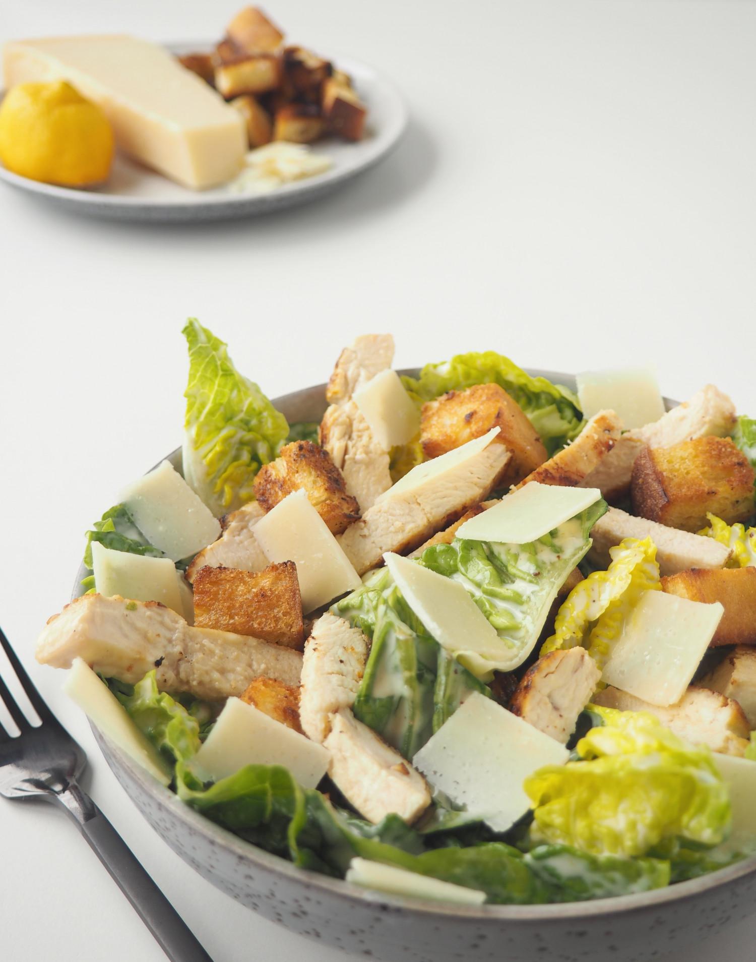 Cæsarsalat ala Beksemad inspireret af min frokostfavorit cæsarsalat fra Bistro Royal
