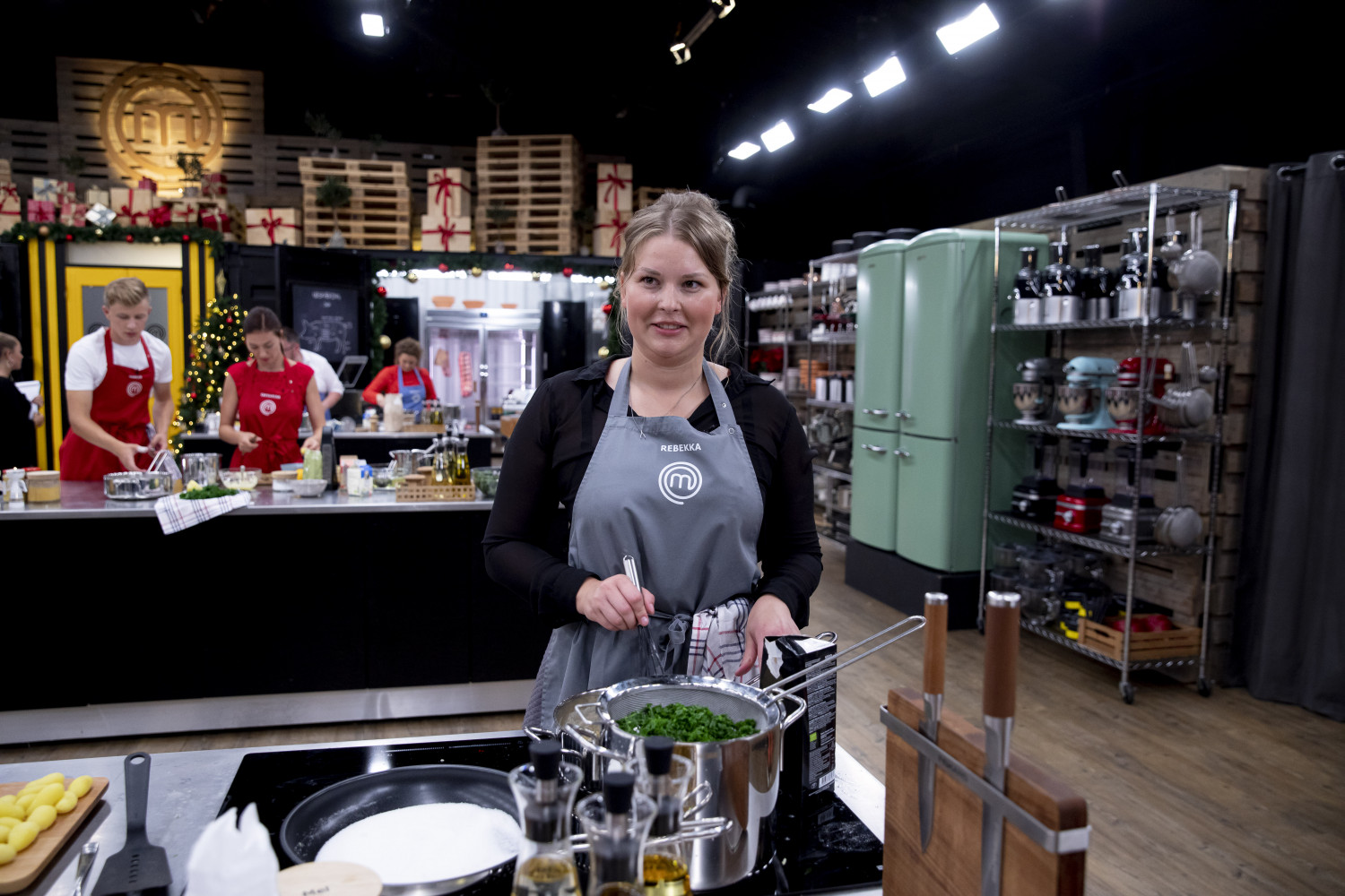 Rebekka i MasterChef Jul 2019 - Rebekka MIkkelsen aka Beksemad Foto: TV3