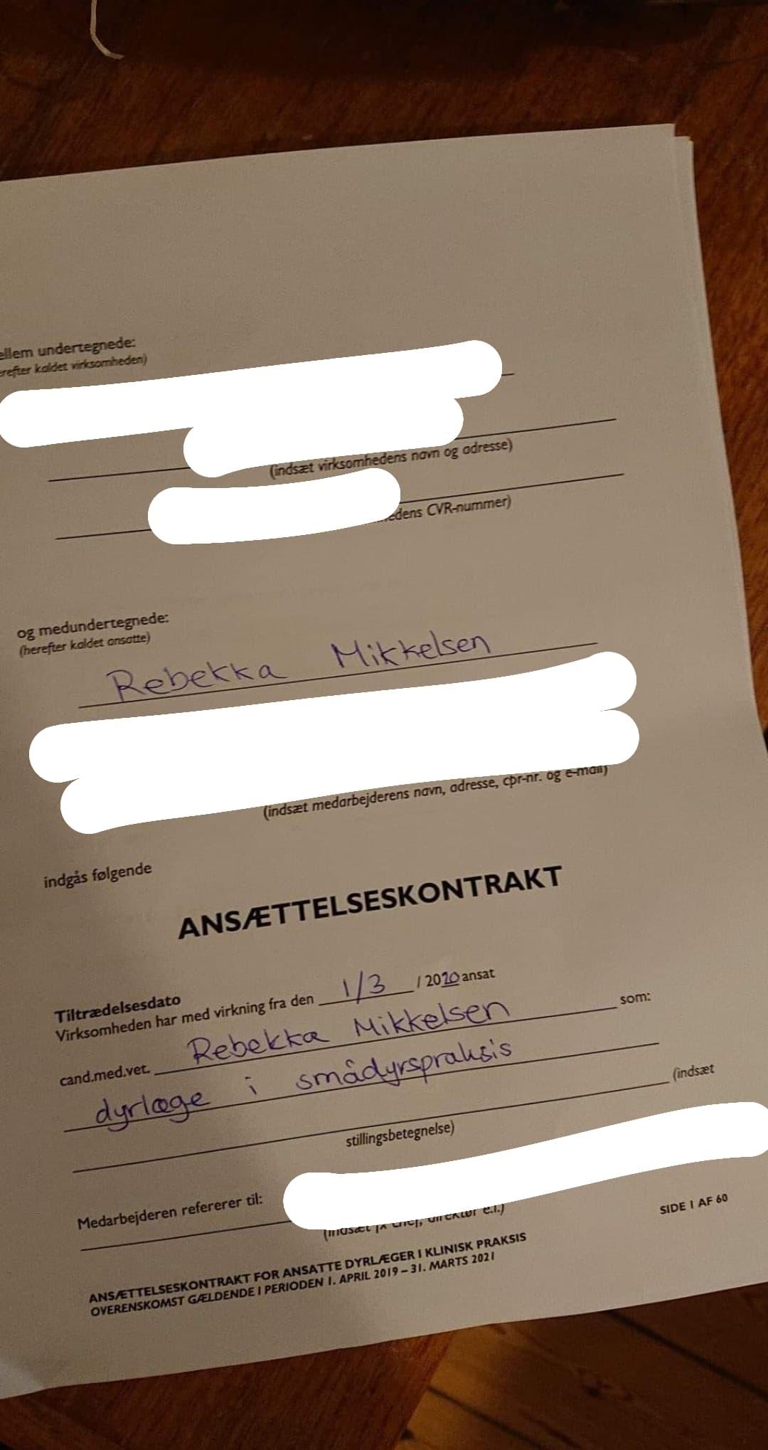 Tirsdagstanker om at sige sit job op - Rebekka Mikkelsen