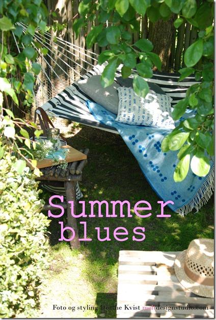 Summerblues  Foto og styling Dorthe Kvist Meltdesignstudio