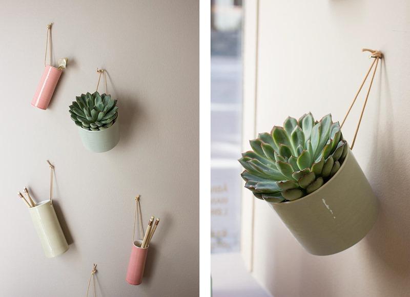 Hanging flowerpots Anne Black foto Stilleben Dorthe Kviste Meltdesignstudio a