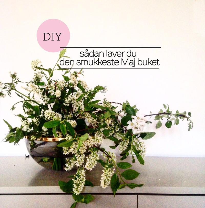 DIY Sådan laver du den smukkeste Maj-buket Dorthe Kvist Meltdesignstudio